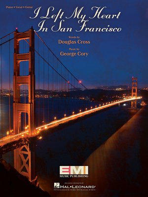 cover image of I Left My Heart in San Francisco Sheet Music