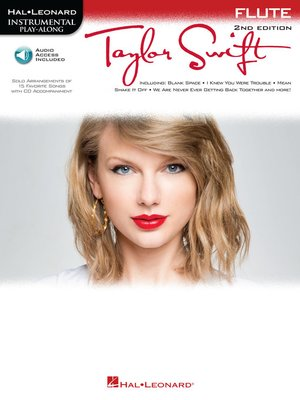 cover image of Taylor Swift for Flute