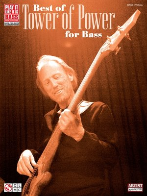 cover image of Best of Tower of Power for Bass (Songbook)