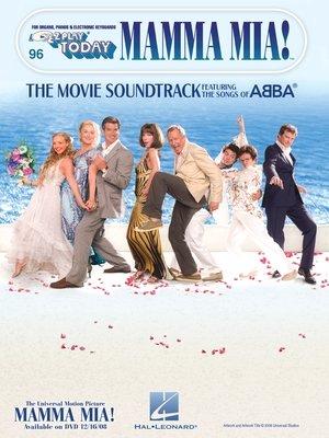 cover image of Mamma Mia--The Movie Soundtrack (Songbook)