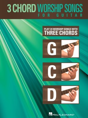 cover image of 3-Chord Worship Songs for Guitar (Songbook)