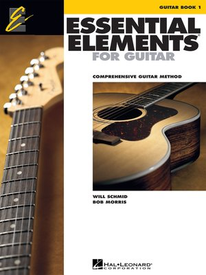 cover image of Essential Elements for Guitar, Book 1 (Music Instruction)