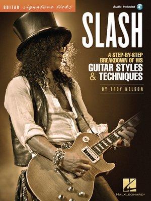 cover image of Slash--Signature Licks