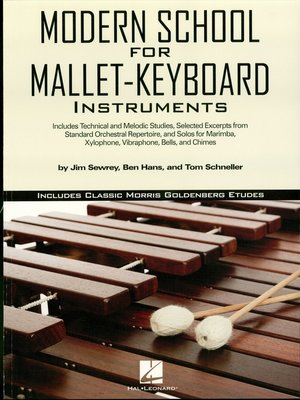 cover image of Modern School for Mallet-Keyboard Instruments (Music Instruction)