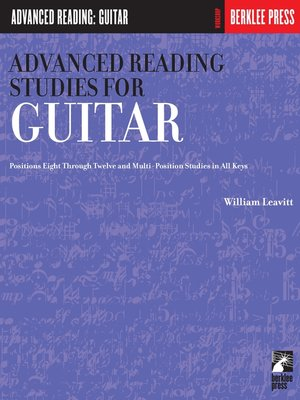 cover image of Advanced Reading Studies for Guitar (Music Instruction)
