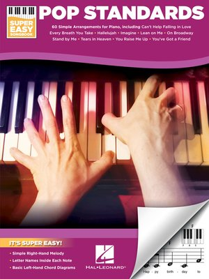 cover image of Pop Standards--Super Easy Songbook
