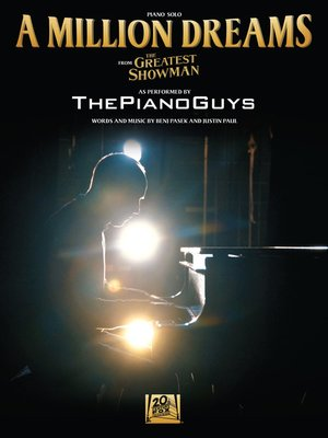 """cover image of A Million Dreams Piano Solo (from """"The Greatest Showman"""")"""