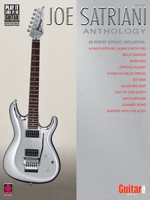 cover image of Joe Satriani Anthology (Songbook)