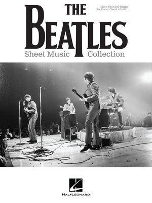 cover image of The Beatles Sheet Music Collection