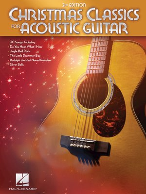 cover image of Christmas Classics for Acoustic Guitar