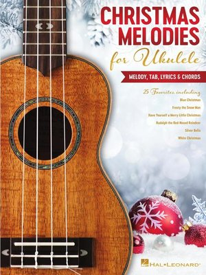 cover image of Christmas Melodies for Ukulele