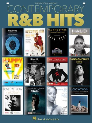 cover image of Contemporary R&B Hits