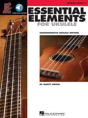 cover image of Essential Elements Ukulele Method--Book 2