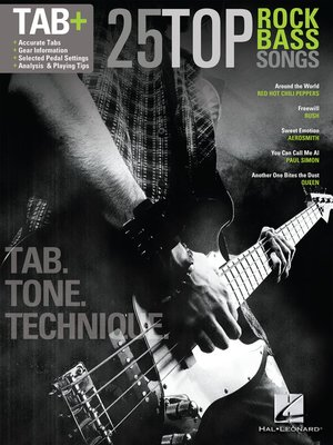 cover image of 25 Top Rock Bass Songs
