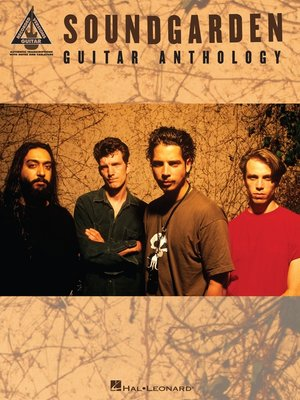 cover image of Soundgarden--Guitar Anthology (Songbook)