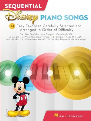 cover image of Sequential Disney Piano Songs