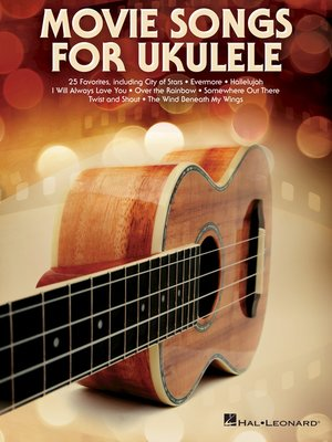 cover image of Movie Songs for Ukulele