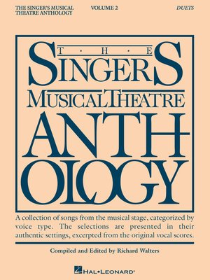cover image of Singer's Musical Theatre Anthology Duets Volume 2