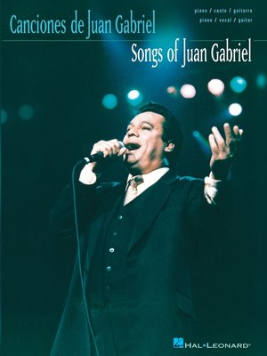 cover image of Songs of Juan Gabriel (Songbook)