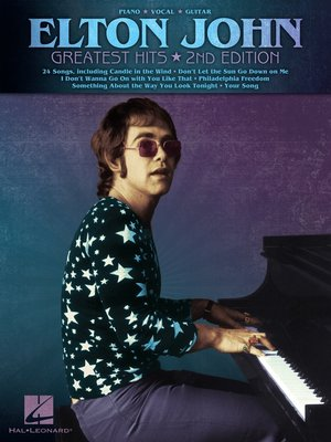 cover image of Elton John--Greatest Hits (Songbook)