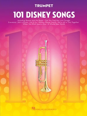 cover image of 101 Disney Songs for Trumpet