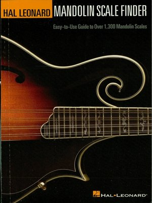 cover image of Mandolin Scale Finder (Music Instruction)
