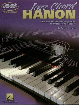 cover image of Jazz Chord Hanon (Music Instruction)