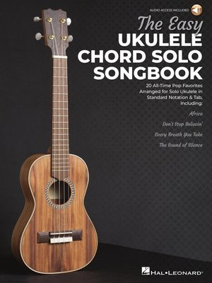 cover image of The Easy Ukulele Chord Solo Songbook