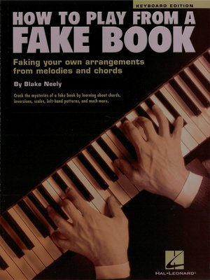 cover image of How to Play from a Fake Book (Music Instruction)