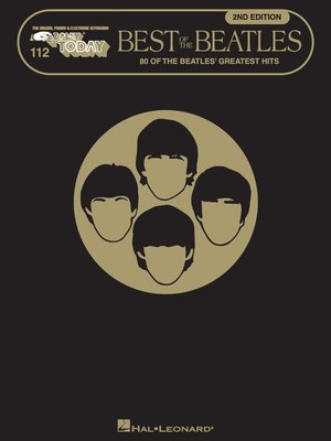 cover image of Best of the Beatles  (Songbook)