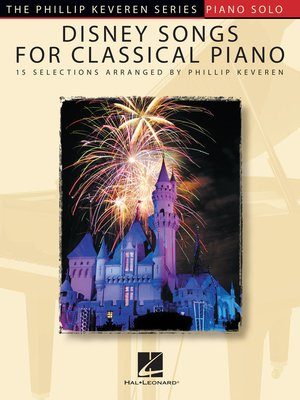 cover image of Disney Songs for Classical Piano