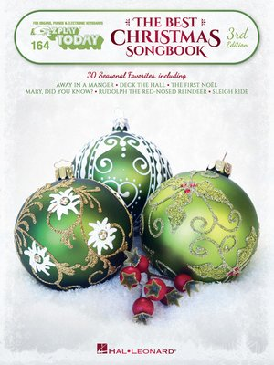 cover image of The Best Christmas Songbook