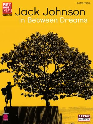 cover image of Jack Johnson--In Between Dreams Songbook