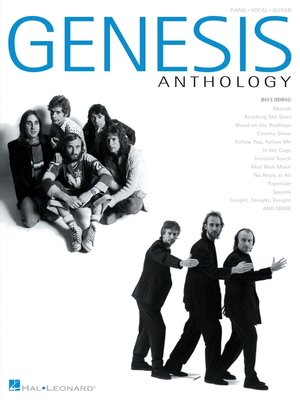 cover image of Genesis Anthology (Songbook)