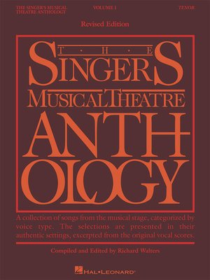 cover image of The Singer's Musical Theatre Anthology--Volume 1, Revised (Songbook)