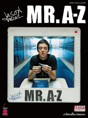 cover image of Jason Mraz--Mr. A-Z (Songbook)