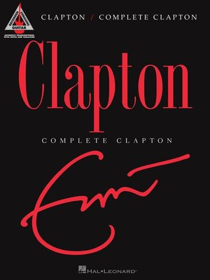 cover image of Complete Clapton Guitar Songbook