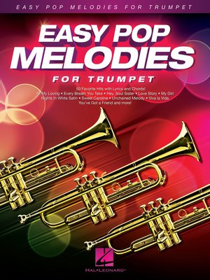 cover image of Easy Pop Melodies for Trumpet