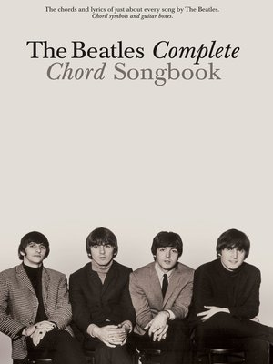 cover image of The Beatles Complete Chord Songbook