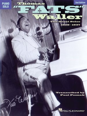 "cover image of Thomas ""Fats"" Waller (Songbook)"