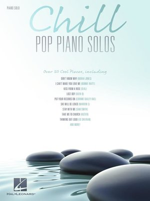 cover image of Chill Pop Piano Solos
