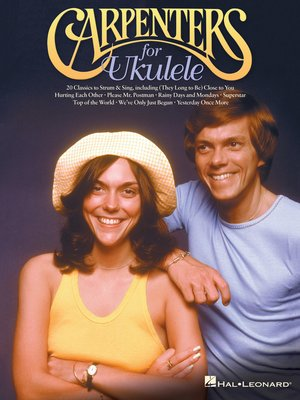 cover image of Carpenters for Ukulele