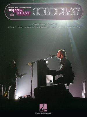 cover image of Coldplay Songbook