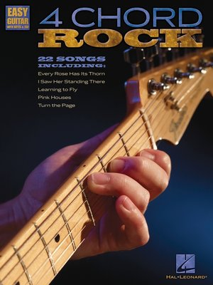 cover image of 4 Chord Rock (Songbook)
