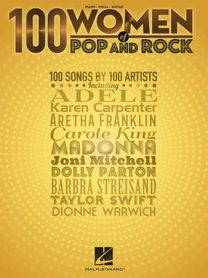 cover image of 100 Women of Pop and Rock