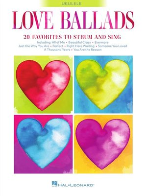 cover image of Love Ballads--Ukulele Songbook