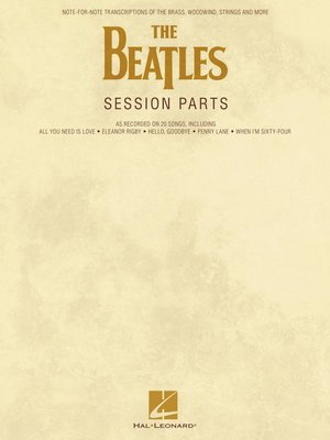 cover image of The Beatles Session Parts