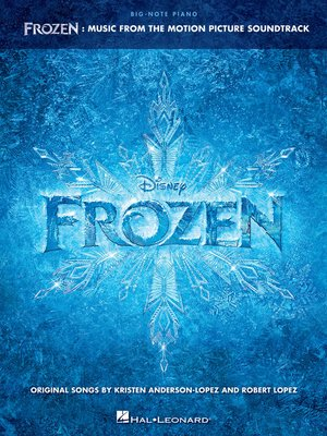 cover image of Frozen--Big-Note Piano Songbook
