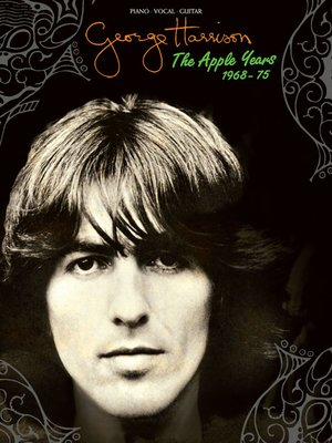 cover image of George Harrison--The Apple Years Songbook