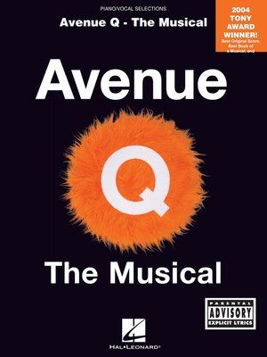 cover image of Avenue Q--The Musical (Songbook)